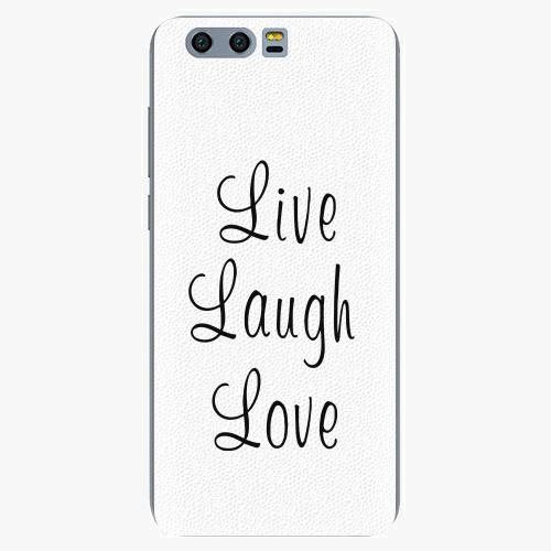 Plastový kryt iSaprio - Live Laugh Love - Huawei Honor 9