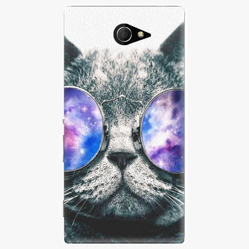 Plastový kryt iSaprio - Galaxy Cat - Sony Xperia M2