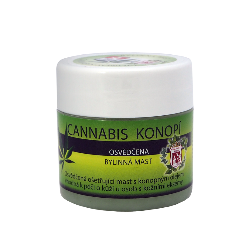 Bylinná mast Cannabis Konopí 150 ml