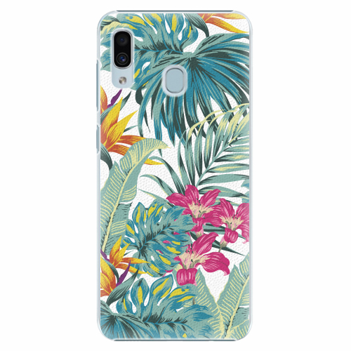 Plastový kryt iSaprio - Tropical White 03 - Samsung Galaxy A30