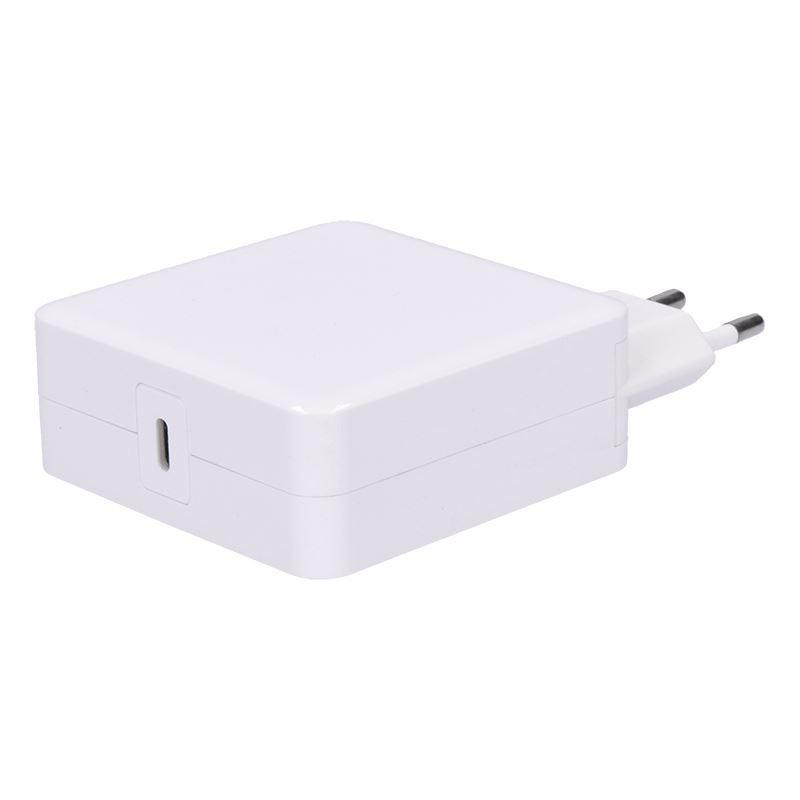 Solight nabíječka notebooků typ USB-C, 65W, PD, bílá