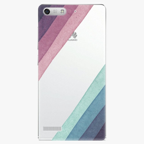 Plastový kryt iSaprio - Glitter Stripes 01 - Huawei Ascend G6
