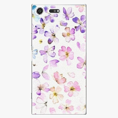 Plastový kryt iSaprio - Wildflowers - Sony Xperia XZ Premium