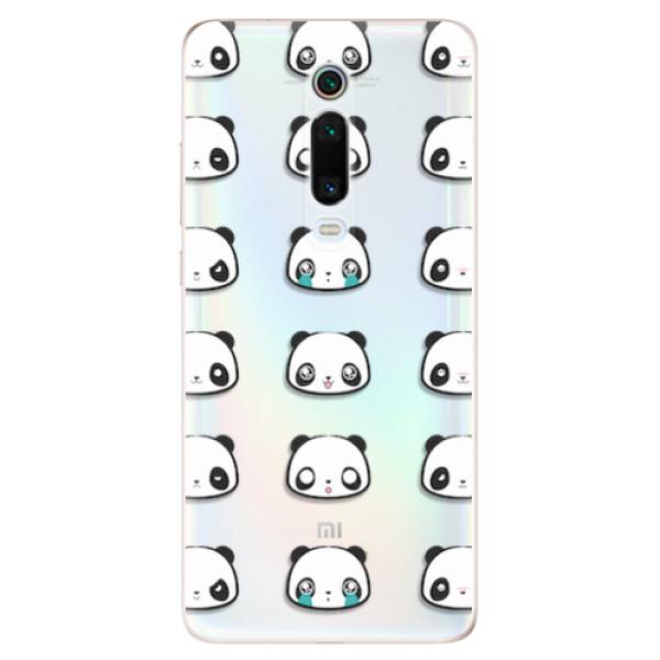 Odolné silikonové pouzdro iSaprio - Panda pattern 01 - Xiaomi Mi 9T Pro