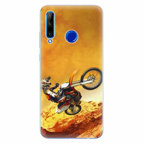 Silikonové pouzdro iSaprio - Motocross - Huawei Honor 20 Lite
