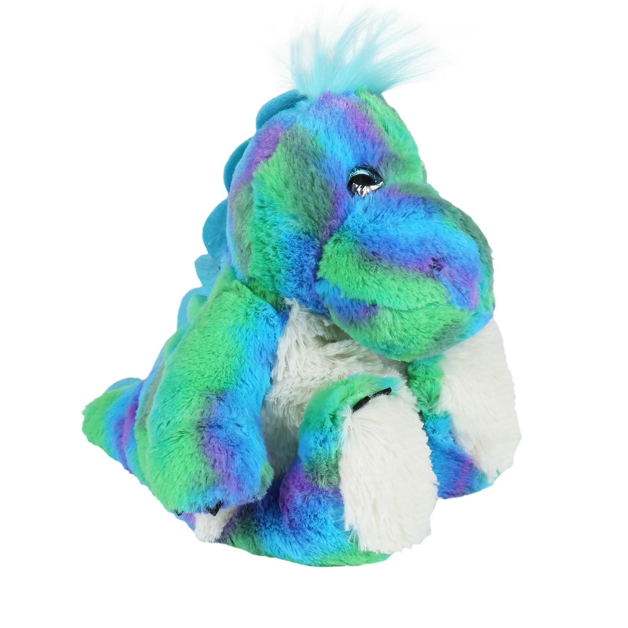 Warmies - Hřejivá mini zvířátka - Hřejivý duhový dinosaurus