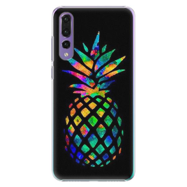 Plastové pouzdro iSaprio - Rainbow Pineapple - Huawei P20 Pro