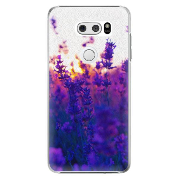 Plastové pouzdro iSaprio - Lavender Field - LG V30