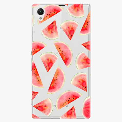 Plastový kryt iSaprio - Melon Pattern 02 - Sony Xperia Z1 Compact