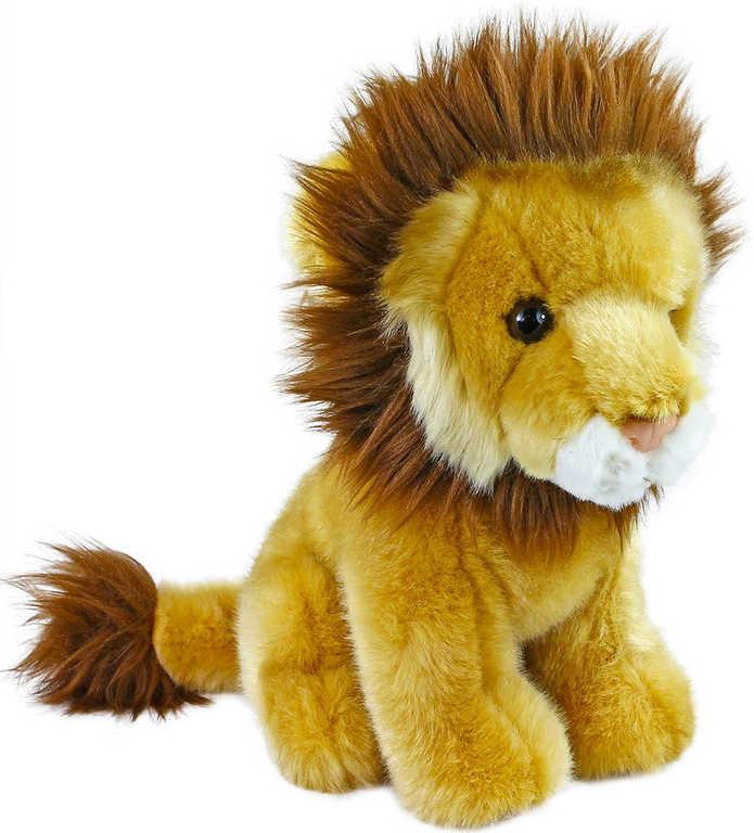 PLYŠ Lev sedící 18cm exkluzivní kolekce *PLYŠOVÉ HRAČKY*