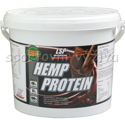 Hemp protein 2500g-cokolada
