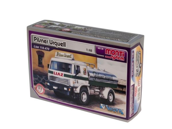 MONTI SYSTÉM 36 Auto Liaz PILSNER URQUEL stavebnice MS36 0103-36