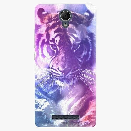 Plastový kryt iSaprio - Purple Tiger - Xiaomi Redmi Note 2