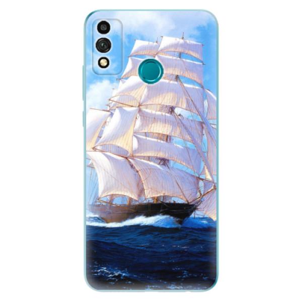 Odolné silikonové pouzdro iSaprio - Sailing Boat - Honor 9X Lite