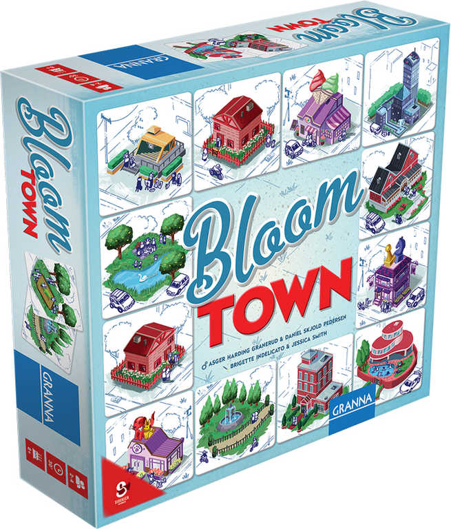 GRANNA Bloom Town *SPOLEČENSKÉ HRY*