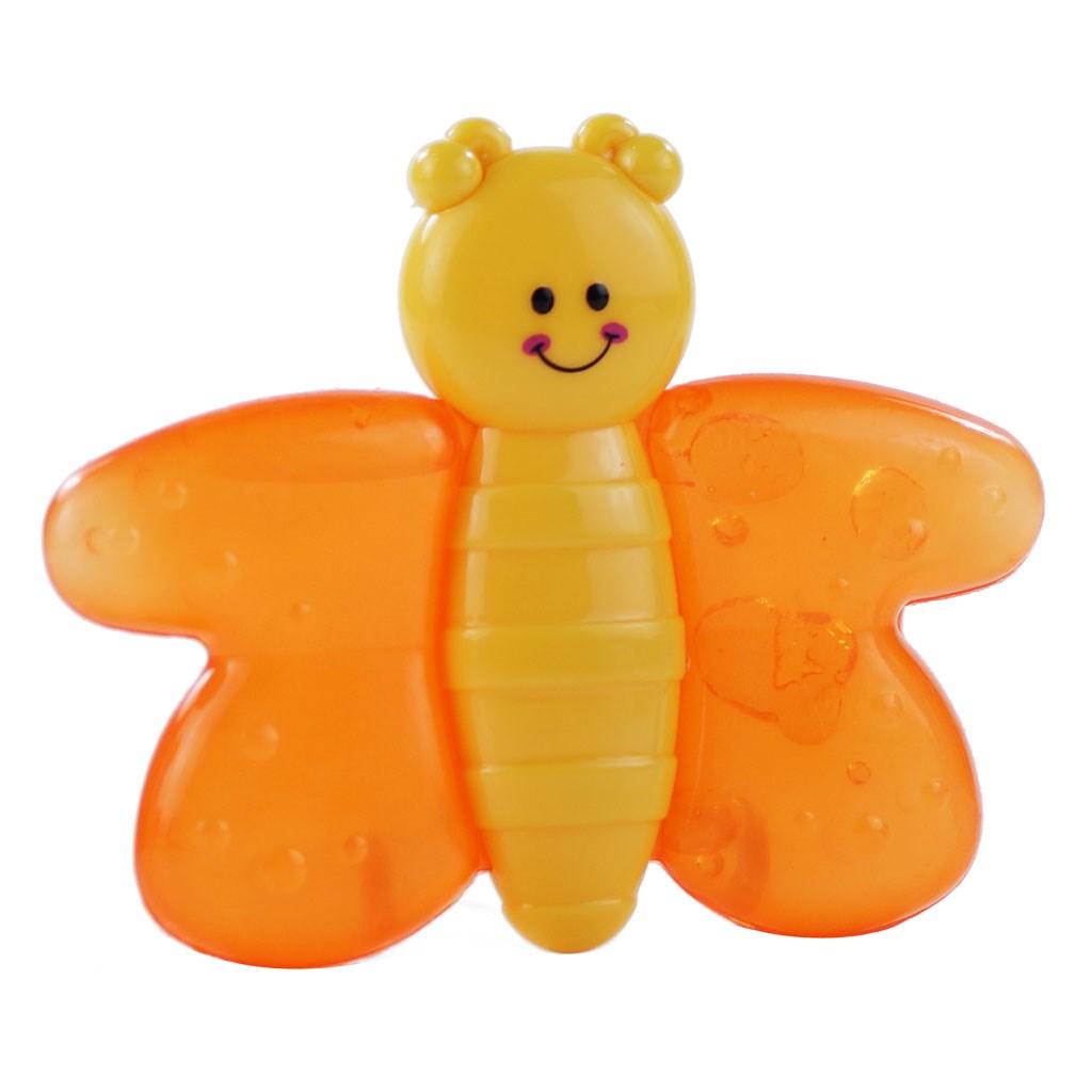 Chladící kousátko Baby Mix včela - žlutá