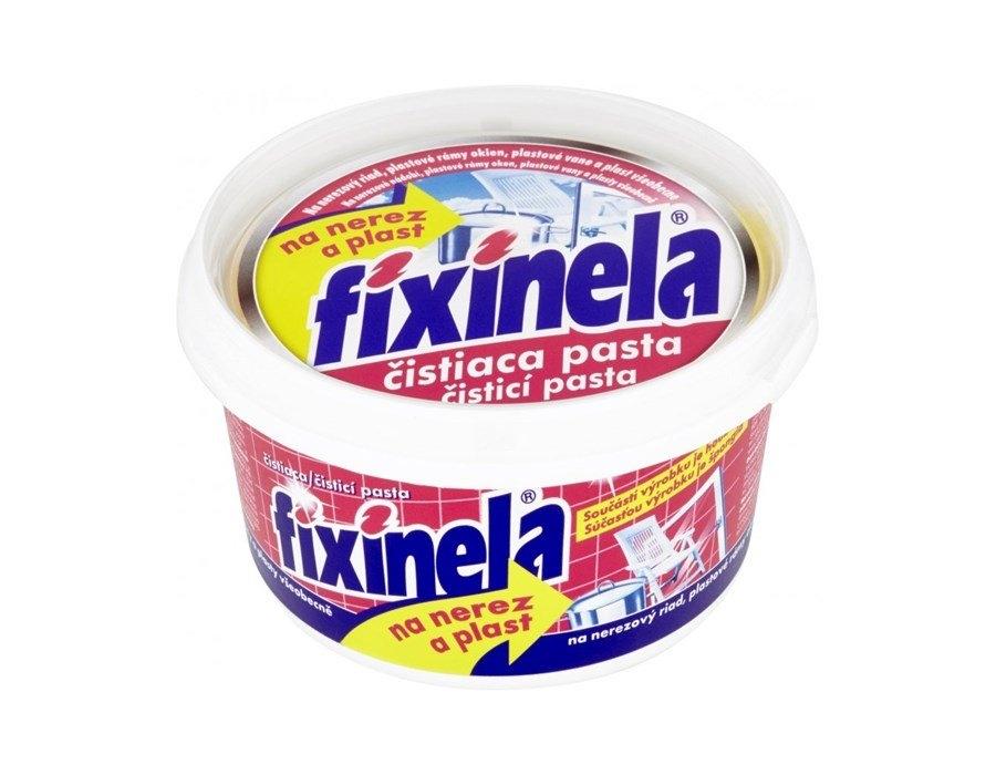 Fixinela čistící pasta na nerezové nádobí a plasty 200 g