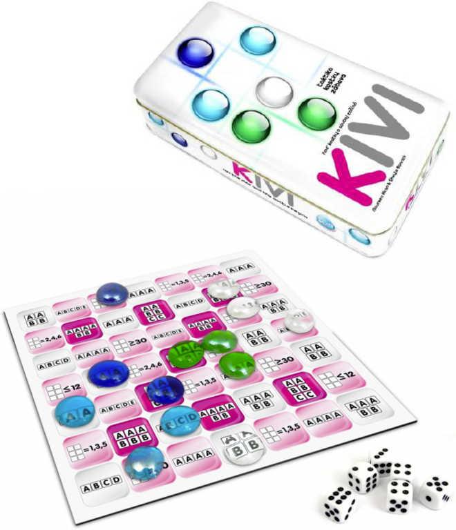 Hra taktická KIVI v plechové krabičce