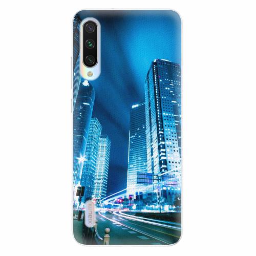 Silikonové pouzdro iSaprio - Night City Blue - Xiaomi Mi A3
