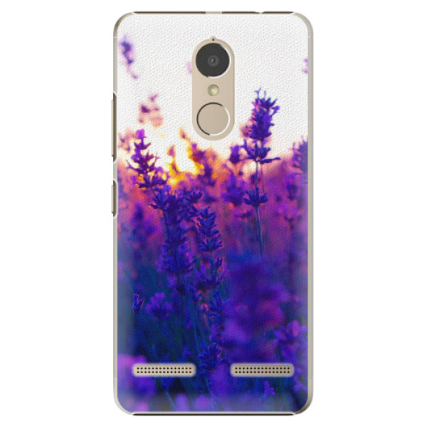 Plastové pouzdro iSaprio - Lavender Field - Lenovo K6