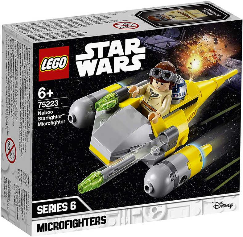 LEGO STAR WARS Mikrostíhačka Starfighter Naboo 75223