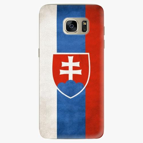 Plastový kryt iSaprio - Slovakia Flag - Samsung Galaxy S7