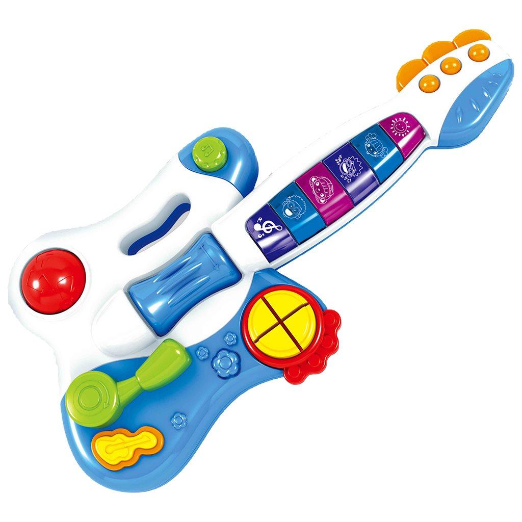 Dětská hrací kytara Bayo - dle obrázku