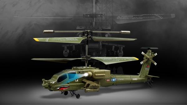 APACHE AH-64 - vojenský mini vrtulník