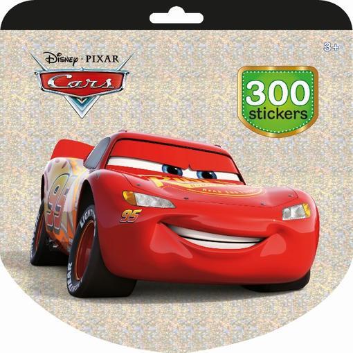 JIRI MODELS Holografický blok se samolepkami set 300ks Auta (Cars)