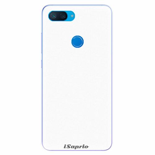 Silikonové pouzdro iSaprio - 4Pure - bílý - Xiaomi Mi 8 Lite