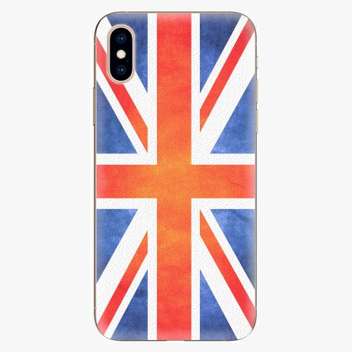 Silikonové pouzdro iSaprio - UK Flag - iPhone XS