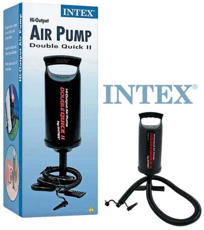 INTEX Pumpa ruční střední 36cm dvojčinná pro nafukovačky 64614