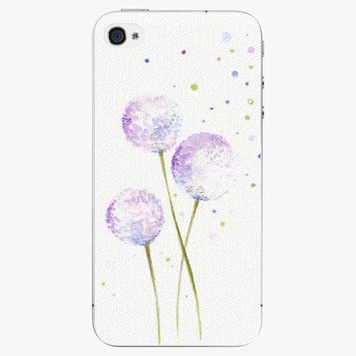Plastový kryt iSaprio - Dandelion - iPhone 4/4S