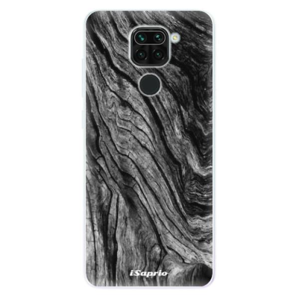 Odolné silikonové pouzdro iSaprio - Burned Wood - Xiaomi Redmi Note 9