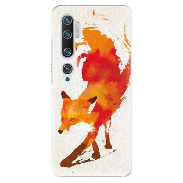 Plastové pouzdro iSaprio - Fast Fox - Xiaomi Mi Note 10 / Note 10 Pro