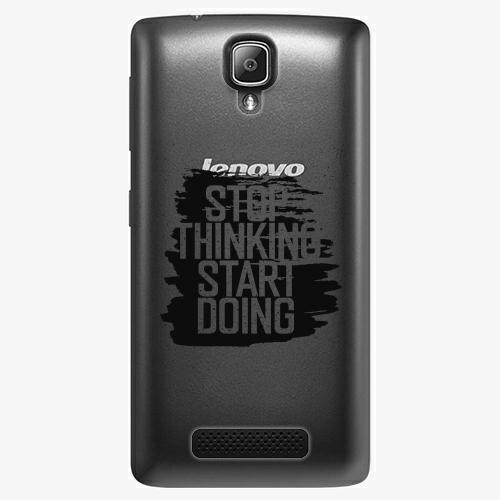 Plastový kryt iSaprio - Start Doing - black - Lenovo A1000