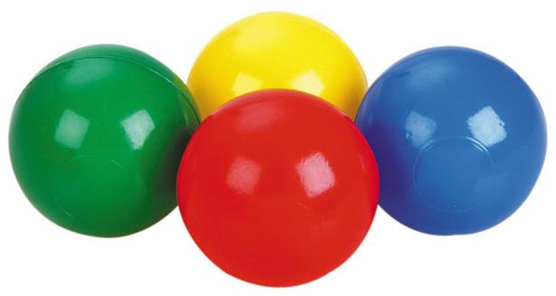 PL Míček do hracího koutu, do vody do bazénku Ball 7cm
