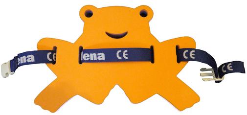 MATUŠKA-DENA Pás plavecký žabka 37-24cm oranžovo-modrá