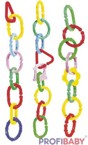 PROFIBABY Řetěz plastový 8 ks