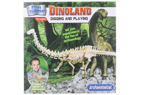 Tesání Brontosaurus