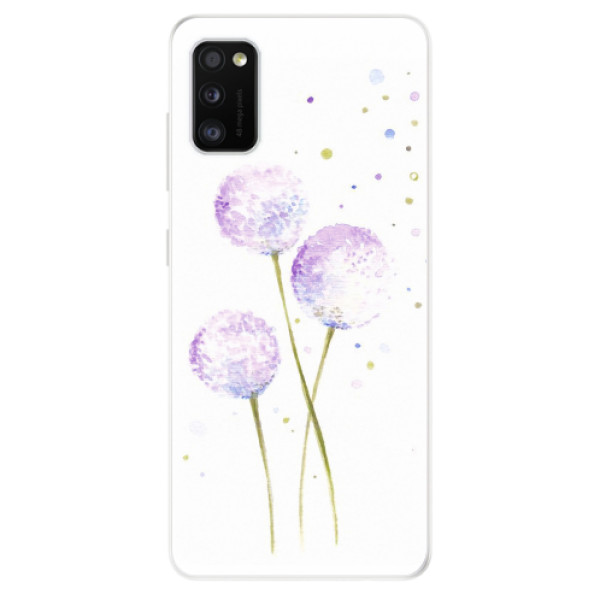 Odolné silikonové pouzdro iSaprio - Dandelion - Samsung Galaxy A41