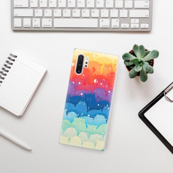 Odolné silikonové pouzdro iSaprio - Cats World - Samsung Galaxy Note 10+