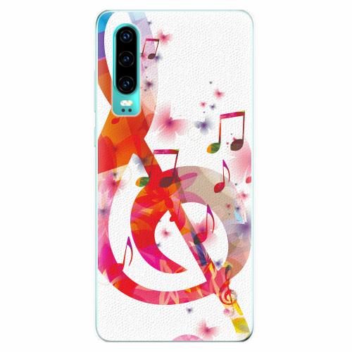 Silikonové pouzdro iSaprio - Love Music - Huawei P30