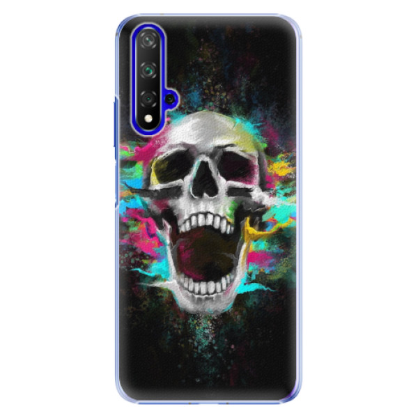 Plastové pouzdro iSaprio - Skull in Colors - Huawei Honor 20