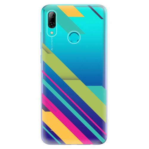 Silikonové pouzdro iSaprio - Color Stripes 03 - Huawei P Smart 2019