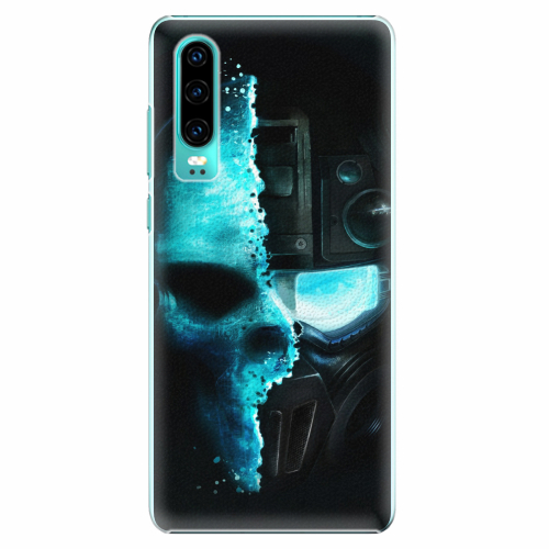 Plastový kryt iSaprio - Roboskull - Huawei P30