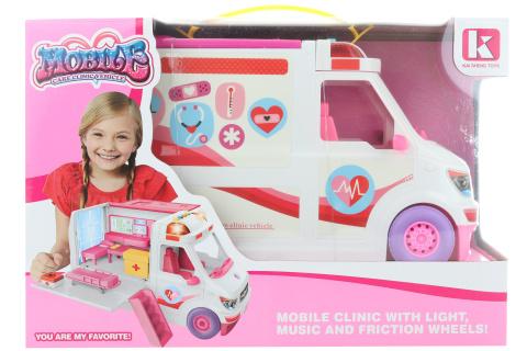 Mobilní klinika pro panenky