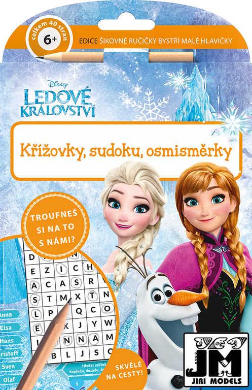 JIRI MODELS Šikovné ručičky Frozen (Ledové Království) set pro chytré hlavičky