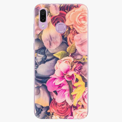 Silikonové pouzdro iSaprio - Beauty Flowers - Huawei Honor Play