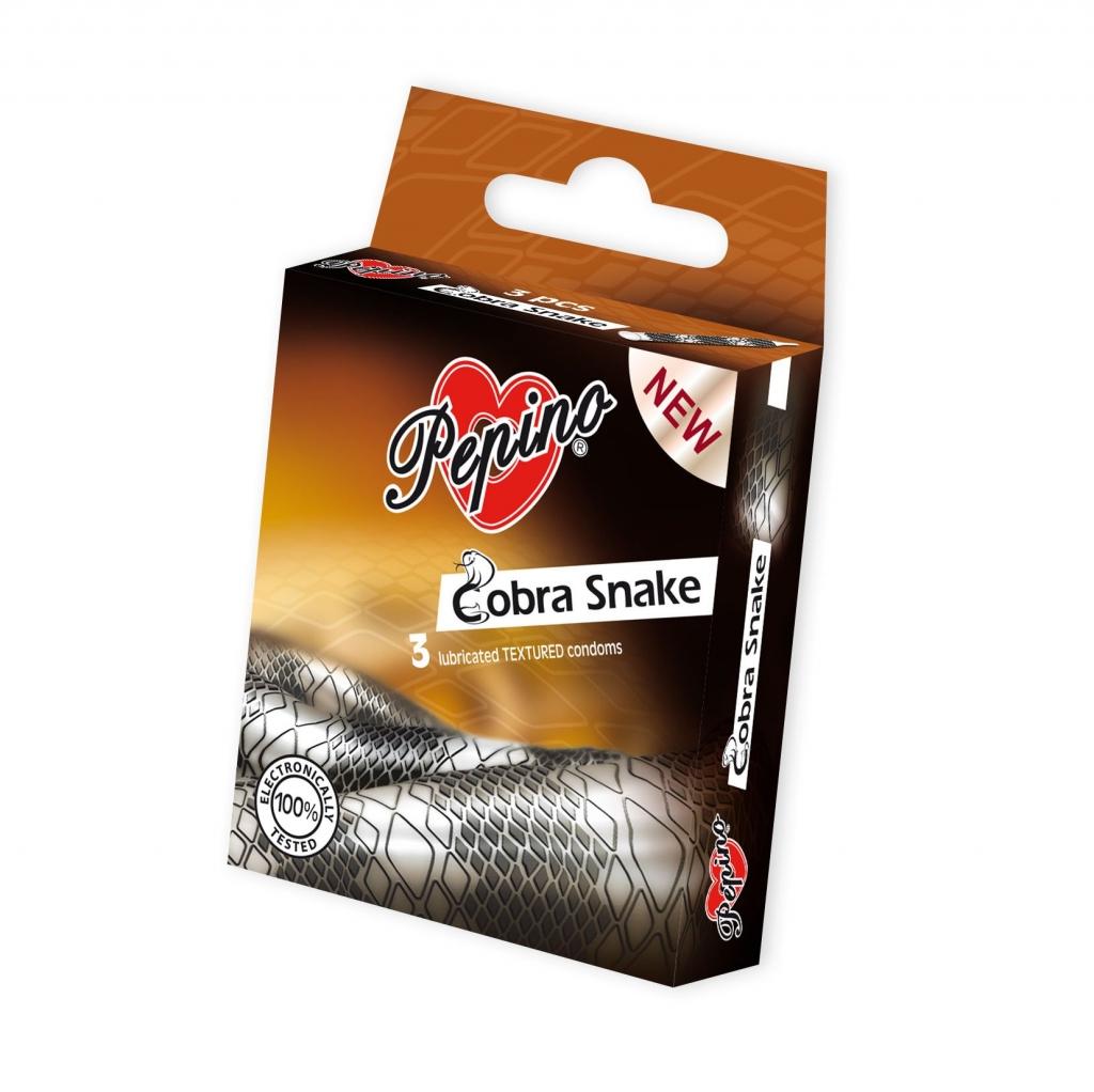 Cobra Snake kondomy 3 ks